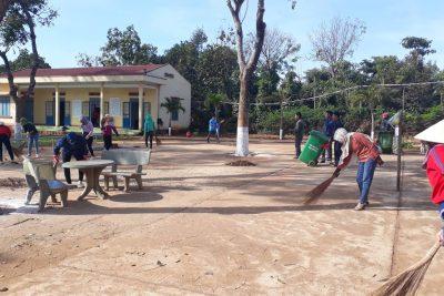Trường THCS Ngô Mây sẵn sàng cho các hoạt động dạy học trở lại sau kỳ nghỉ chống dịch do nCov-2019